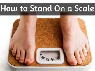 How to Stand On a Scale