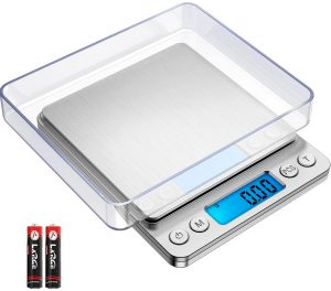 AMIR Digital 500g 0.01g Mini Pocket Jewelry Scale