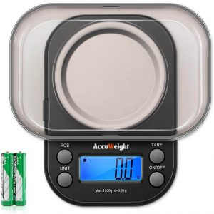 AccuWeight Pocket Gram Scale for Jewelry