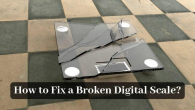How to Fix a Broken Digital Scale