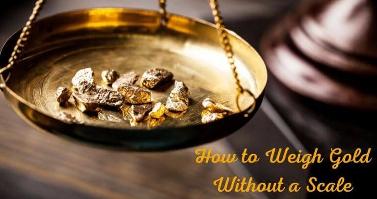 How to Weigh Gold Without a Scale