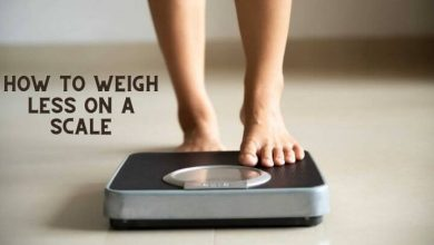 How to Weigh Less on a Scale
