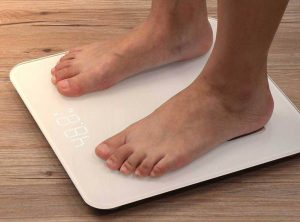weight watchers Body Fat analysis bathroom scale